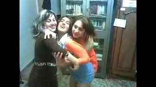 رقص دختران ایرانی در خوابگاه - iranian college girls dancing