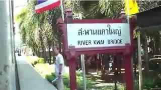 River Kwai Bridge/Death Valley Railway: A Train Trip From Bangkok to Nam Tok (Thailand)