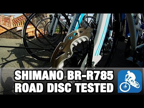 Shimano BR-R785 Road Disc Brake Tested