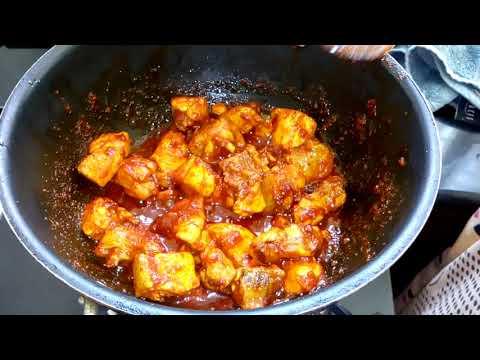 Making of Gongura Chicken   గోంగూర చికెన్