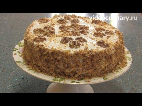 Торт Сметанник - Рецепт Бабушки Эммы