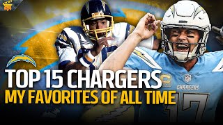 My Top 15 Chargers of All Time | Director's Cut