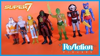 Super7 ReAction Masters of the Universe Phantom StarKiller Slime Pit He-Man Action Figure Toy Review