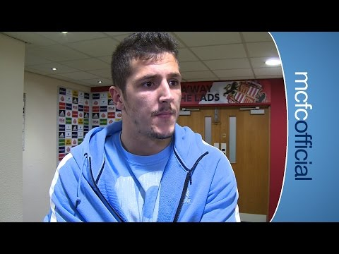 JOVETIC ON GOAL | Sunderland 1-4 City: Stevan Jovetic Reaction