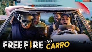 FREE FIRE DENTRO DO CARRO DESTRUÍDO!!!