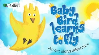 Action Story for Children I Baby Bird Learns To Fly