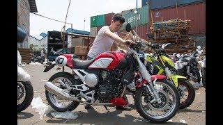 """Tin nhanh 24/7 - Biker """"SỤC SÔI"""" khi lô hàng GPX Racing đầu tiên CẬP BẾN Việt Nam với giá CỰC SHOCK."""
