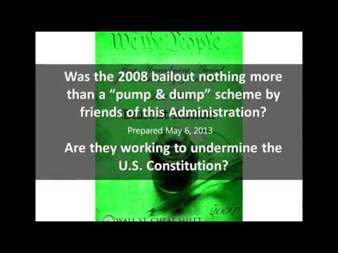 Obama Administration Cover-up of the 2008 US Bank Bailout (Non)Disclosures