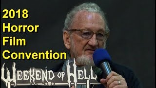 Weekend of Hell Convention 2018 - Westfalenhallen Dortmund - Horror Film Festival Stars - 03.11.2018