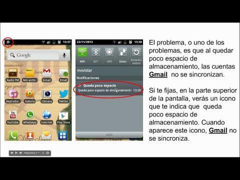 ¿Porqué no se sincroniza una cuenta de Gmail en nuestro móvil con S.O. Android?