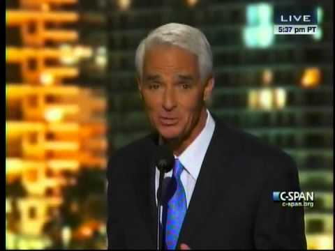 Charlie Crist Remarks at 2012 Democratic National Convention