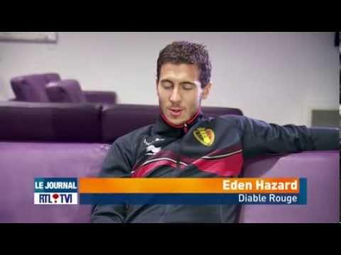 Interview exclusive Eden Hazard RTL 17/11/2013