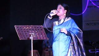 Amar Premer Tajmahal Live song by Singer Kanak Chapa in Durga Puja 2015