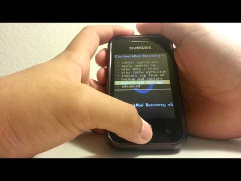 How to Create a Backup ROM - Galaxy Y
