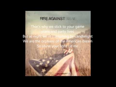 Rise Against - Endgame - Satellite Lyrics video