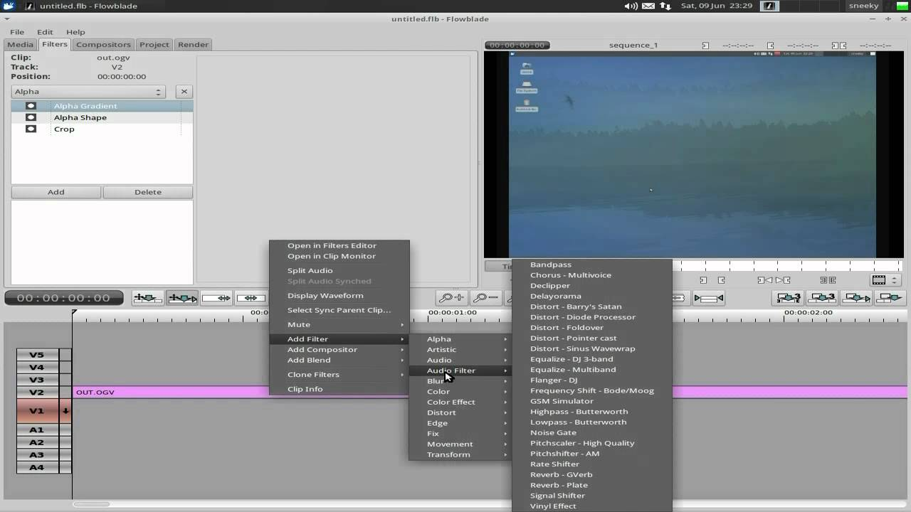 best video editor for linux
