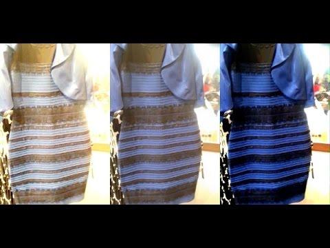 Que cor é o vestido? ILUSÃO DE ÓTICA