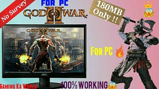 God Of War II How To Download And Install With Gameplay And Review