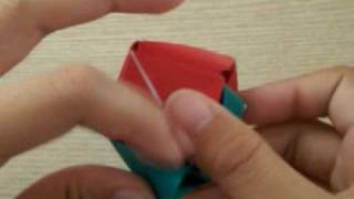 Origami Magic Rose Cube Part 2 - Connecting The Parts