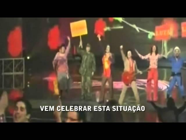 Homens da Luta - A Luta é Alegria (Legendado) @ Final do Festival da Canção 2011