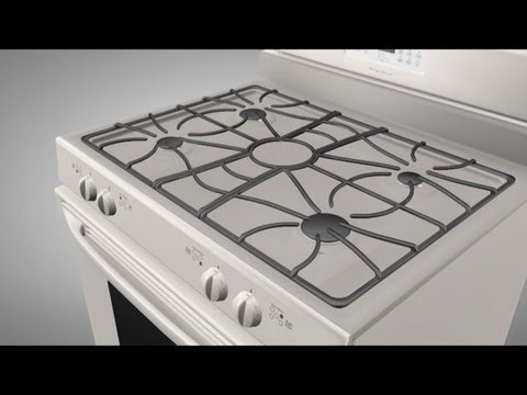 How an gas range works