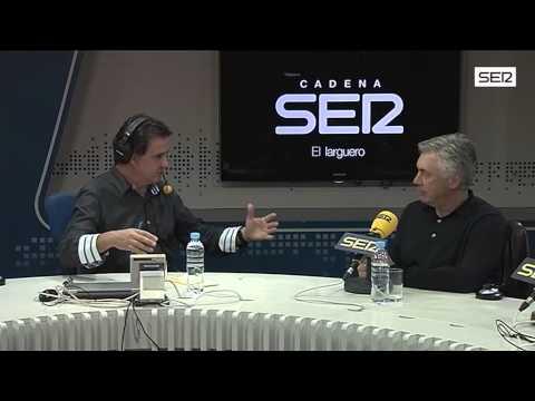 Ancelotti, en 'El Larguero':
