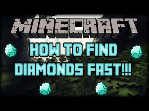 (1.6.4) How To Find Diamonds FAST and EASY!!!! Best Way!