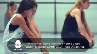 Contemporary dance workshop by Elena Dolgih - Open Art Studio