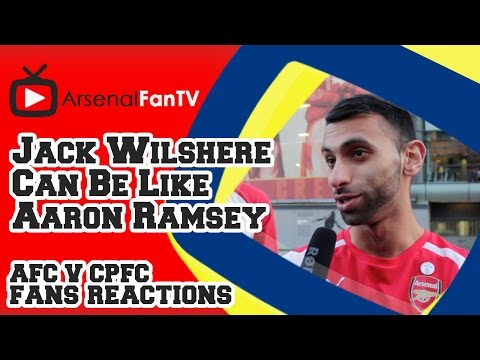 Jack Wilshere Can Be Like Aaron Ramsey says Moh - Arsenal 2 Crystal Palace 1