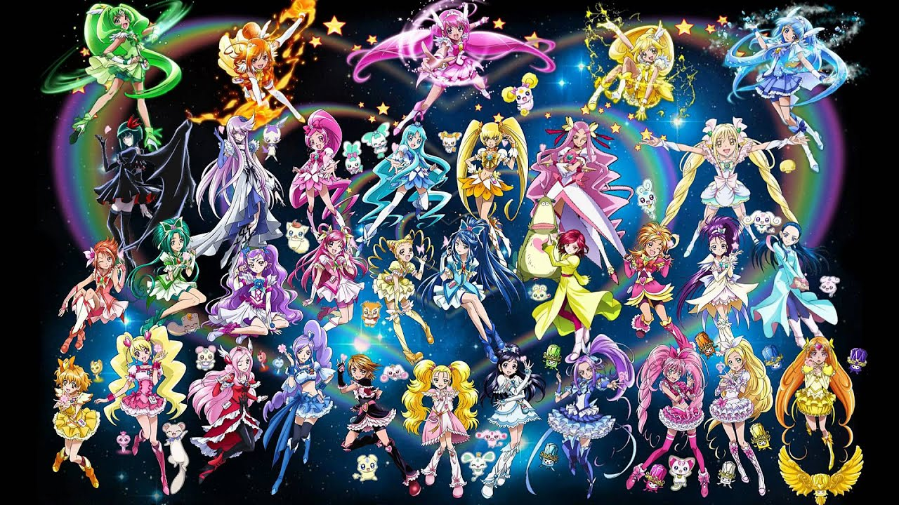 Image Result For Precure All New Stage Pictures Precure All Stars