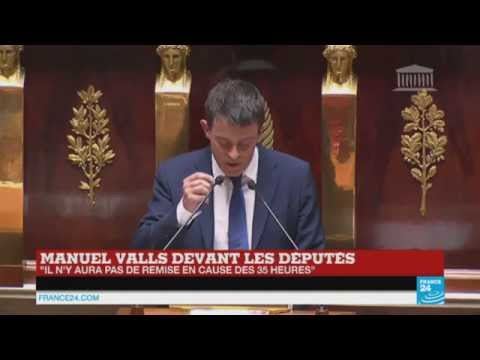 En direct : suivez le grand oral de Manuel Valls devant l'Assemblée Nationale