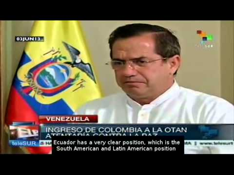 Patiño: Colombia's request to join NATO threatens the peace