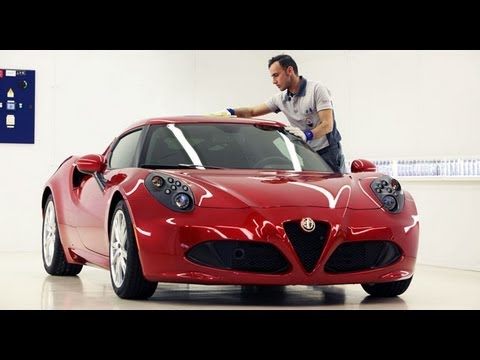 Alfa Romeo 4C. l'Eccellenza del Made in Italy