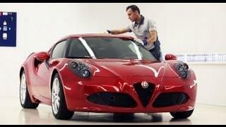 Alfa Romeo 4C, l'Eccellenza del Made in Italy
