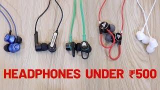 Headphones Under Rs500 | Budget Headphones | Tech Unboxing 🔥