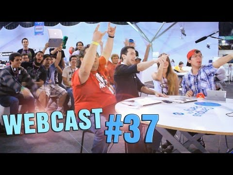 Webcast #37 - Campus Party, Not&Atilde;&shy;cias, Dicas, Fodones e Rolandinho, Dinossaura Game e mais!
