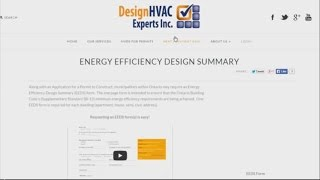 Energy Efficiency Design Summary Guide