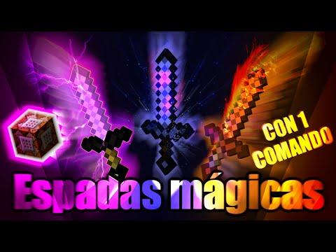 ¡ESPADAS MÁGICAS! - Sin Mods [Con un solo Comando] Review Minecraft 1.8