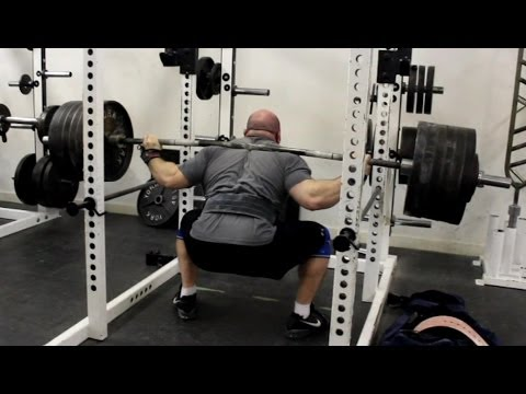 Jeremy Hamilton: Squat Training 02/12/13 Week 1 Image 1