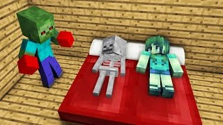 Zombie Life: Boxing - Minecraft Animation