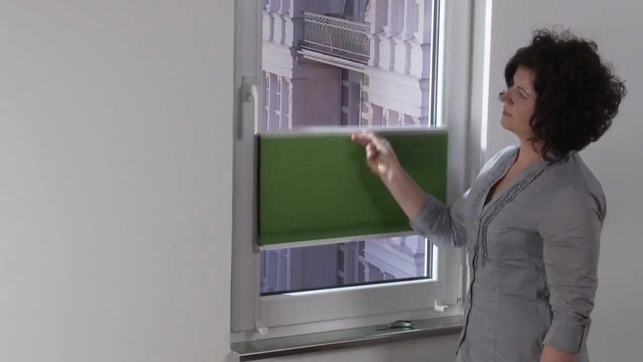 liedeco klemmfix thermo plissee verspannt montageanleitung. Black Bedroom Furniture Sets. Home Design Ideas