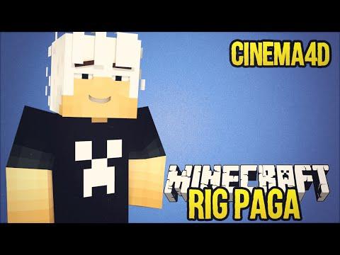 Melhor Rig de Minecraft do Mundo para Cinema 4D !