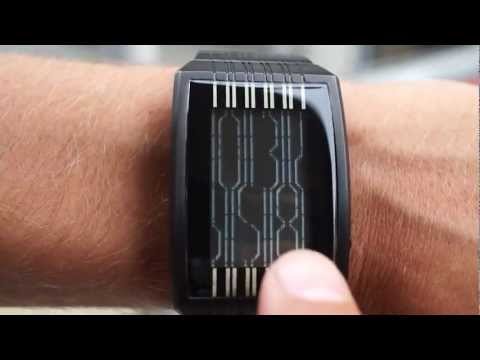 Kisai Online LCD Watch Design with Accelerometer from Tokyoflash Japan