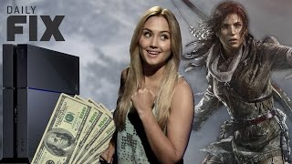 Снижение цены на PS4 и микротранзакции в Rise of the Tomb Raider  - IGN Daily Fix