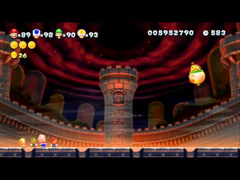 New Super Mario Bros. U - Finale