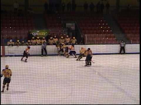Cape Breton West Islanders vs Dartmouth Subways 02 06 2010 part 1