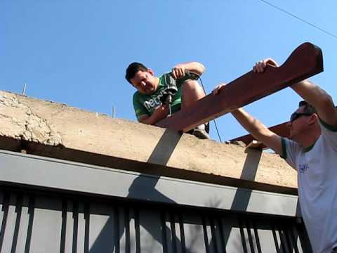 Como construir um telhado de madeira