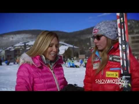 SnowMotion 2014 Chairlift Interview - Mikaela Shiffrin