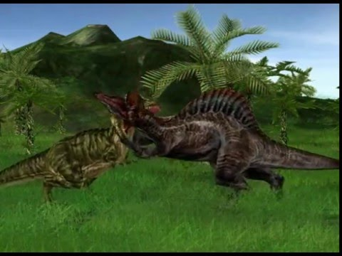 jurassic park operation genesis special fights