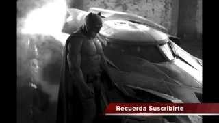 PRIMER VISTAZO AL #BATIMOVIL Y #BATMAN En Batman Vs Superman